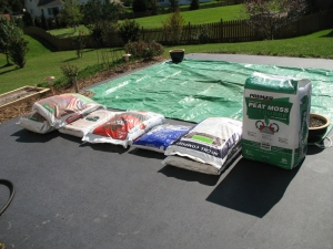 Compost, Peat, Vermiculite