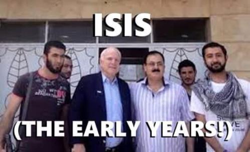 John McCain and ISIS